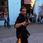 A oto i ja w pełnej krasie podczas parady w Tarnowie 2008